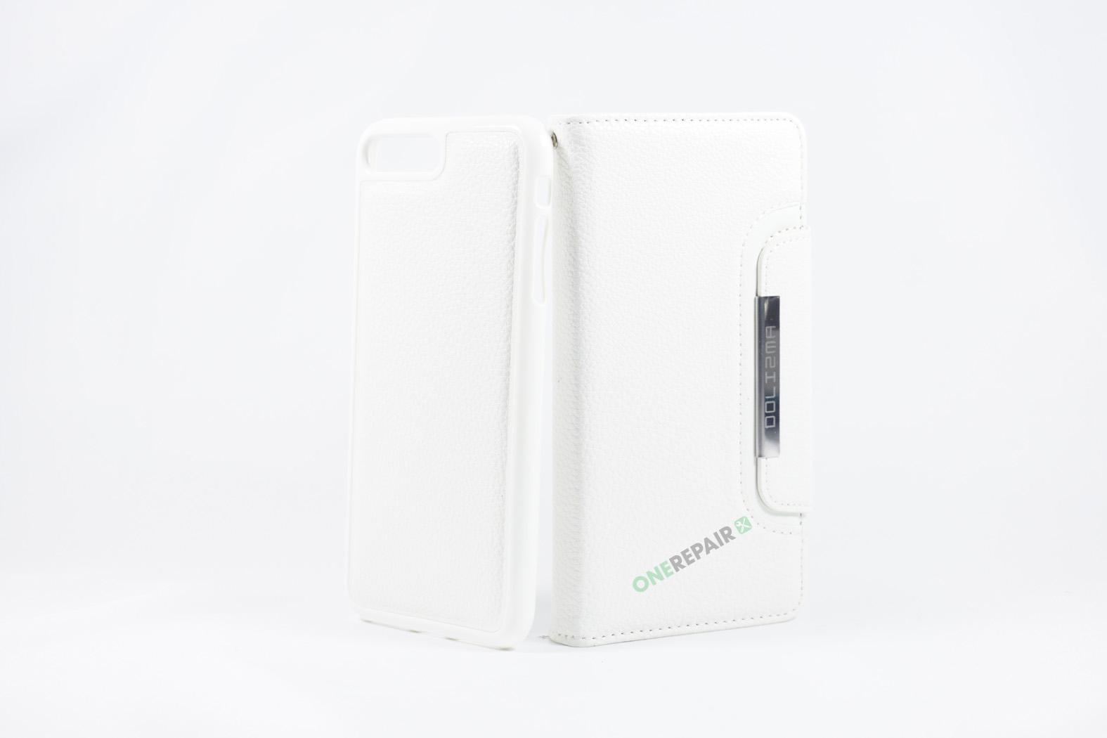 350849_iPhone_7+_8+_Plus_Flipcover_Magnet_Cover_Hvid_OneRepair_WM_00005