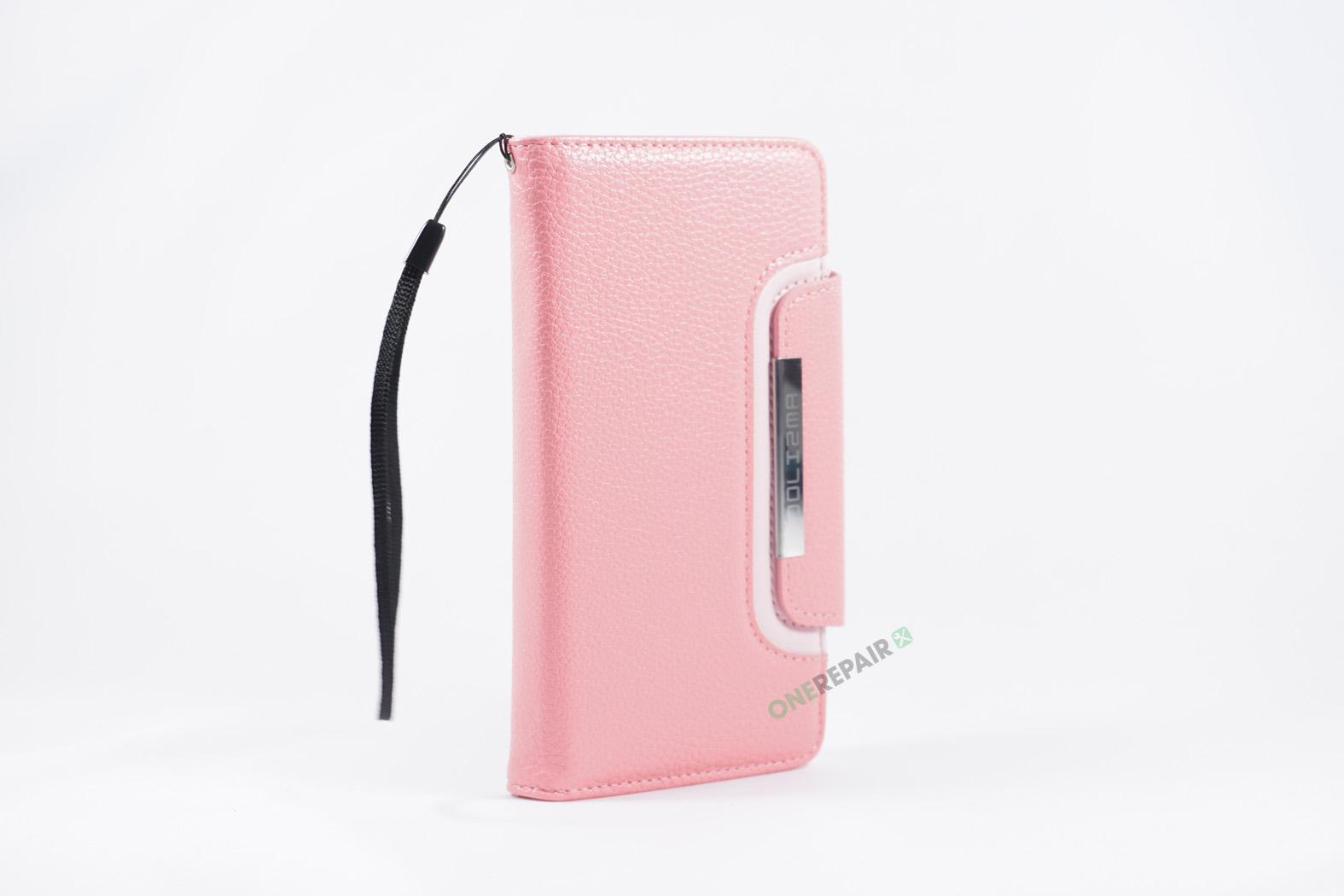 350852_iPhone_7+_8+_Plus_Flipcover_Magnet_Cover_Lyseroed_Pink_OneRepair_WM_00006