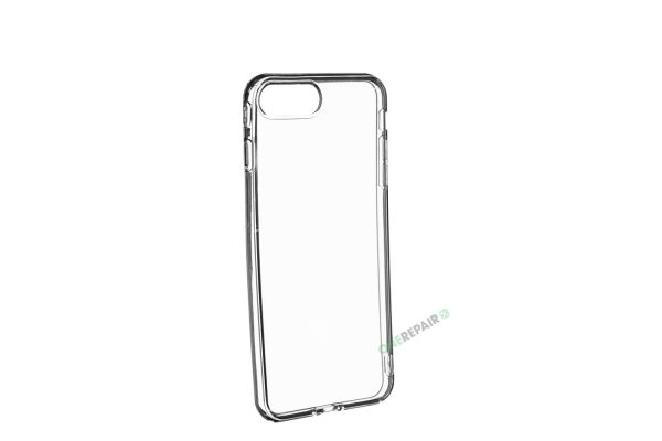 iPhone 7 plus, iPhone 8 plus, Gennemsigtigt, gennemsigtig, iPhone 8+, iphone 7+, Cover, Mobil, Billig, Godt