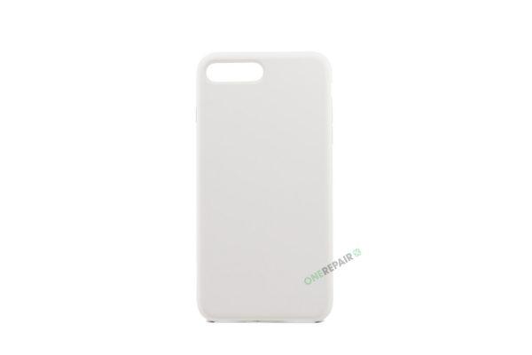 iPhone 7 Plus, iPhone 8 Plus, Silikone cover, Beige, Apple, Stilet, Simpelt