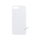 iPhone 7 Plus, iPhone 8 Plus, Silikone cover, Hvid, Apple, Stilet, Simpelt
