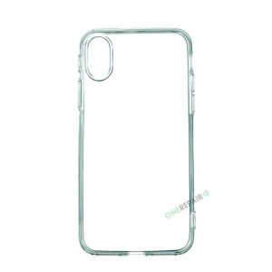 iPhone X / XS cover, Gennemsigtig, Transparant, Gummicover