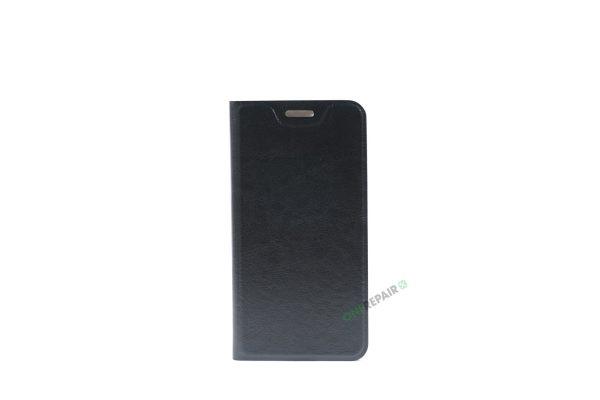 Huawei P9 Lite mini, Flipcover, Plads til kort, Sort