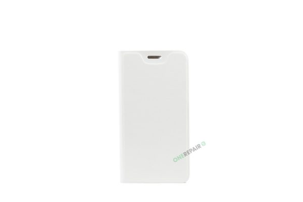 Huawei P9 Lite mini, Flipcover, Plads til kort, hvid