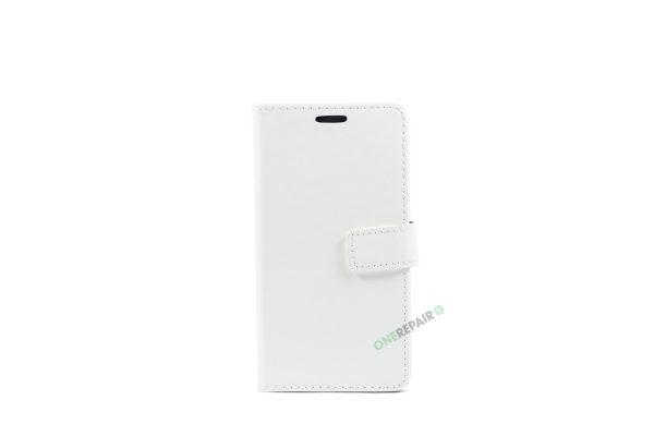 Huawei P9 lite, Flipcover, cover, Plads til kort, Hvid
