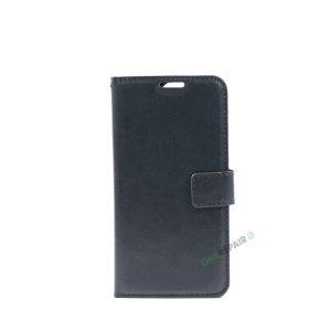 Huawei P9, Flipcover, cover, Plads til kort, Sort