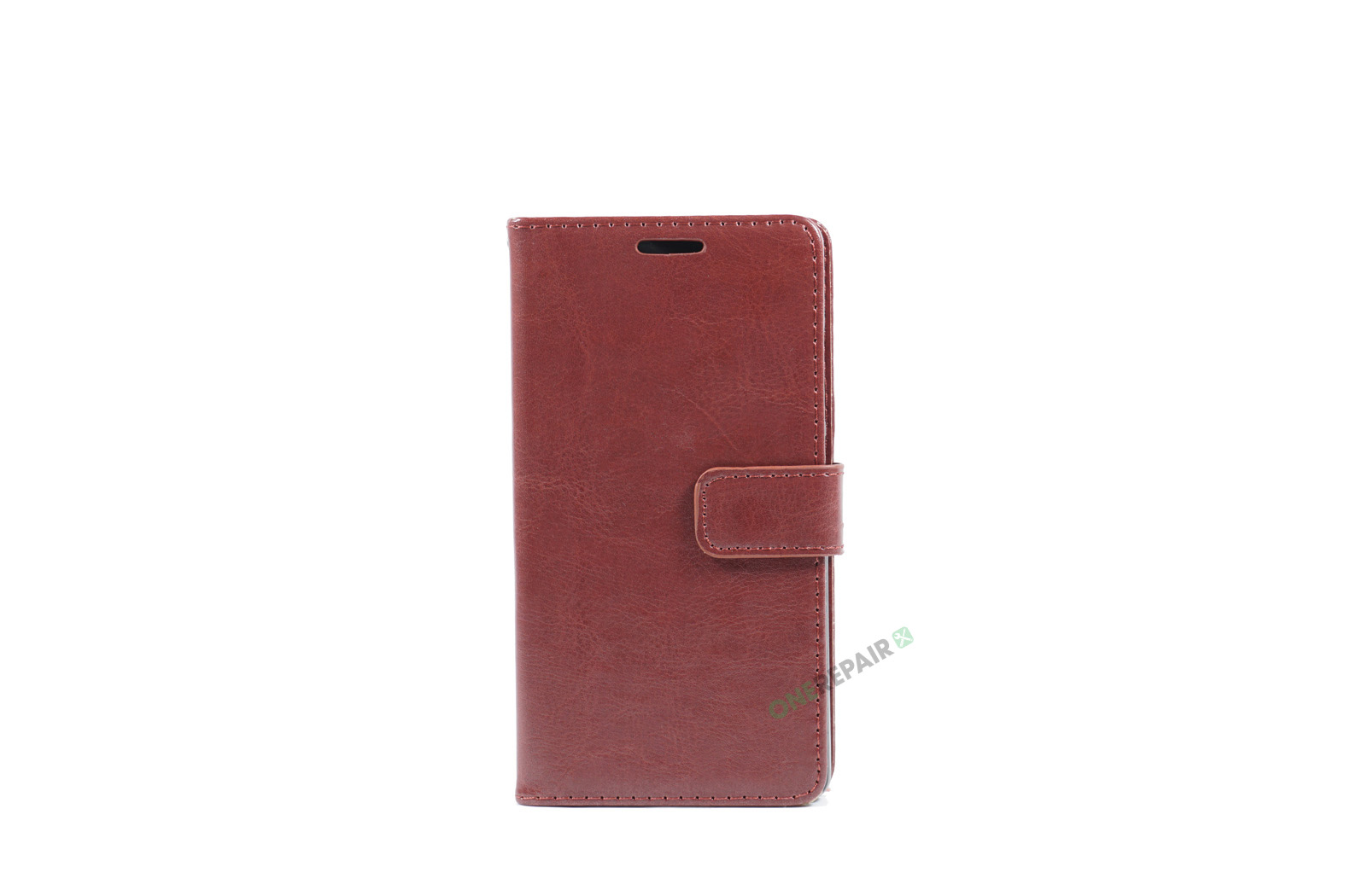 Huawei P8, Flipcover, cover, Plads til kort, Brun