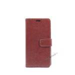 Huawei P8 lite, Flipcover, cover, Plads til kort, Brun