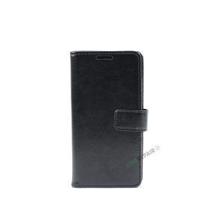 Huawei P8 lite, Flipcover, cover, Plads til kort, Sort