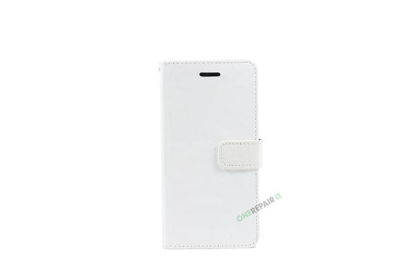 Huawei P10 lite, Flipcover, cover, Plads til kort, Hvid