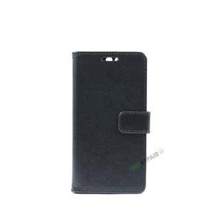 Huawei P10, Flipcover, Plads til kort, Sort
