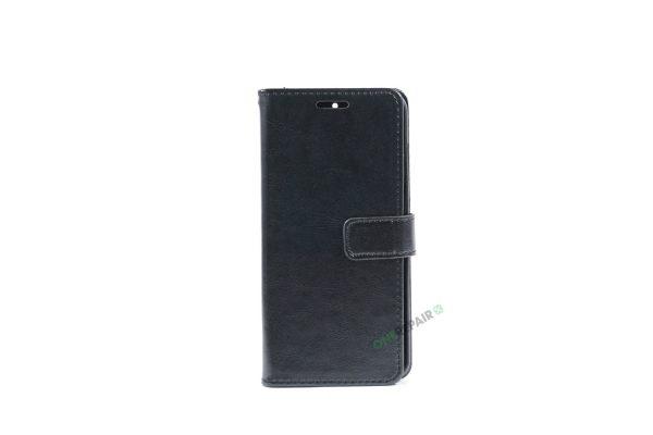 Huawei Mate 9 Pro, Flipcover, cover, Plads til kort, Sort