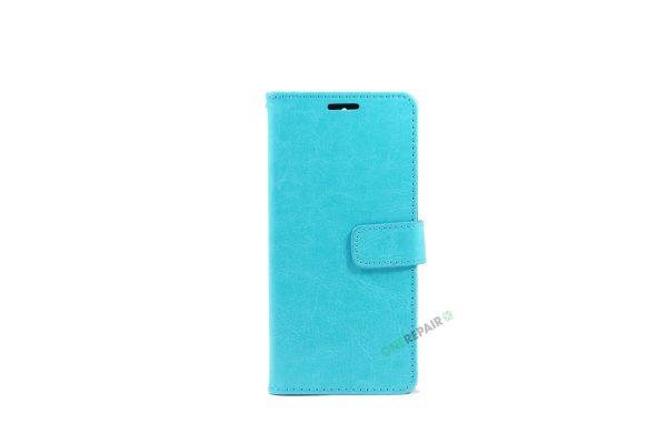 Huawei Mate 9 Pro, Flipcover, cover, Plads til kort, Turkis, Blå