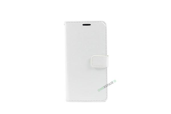 Huawei Mate 10, Flipcover, cover, Plads til kort, Hvid
