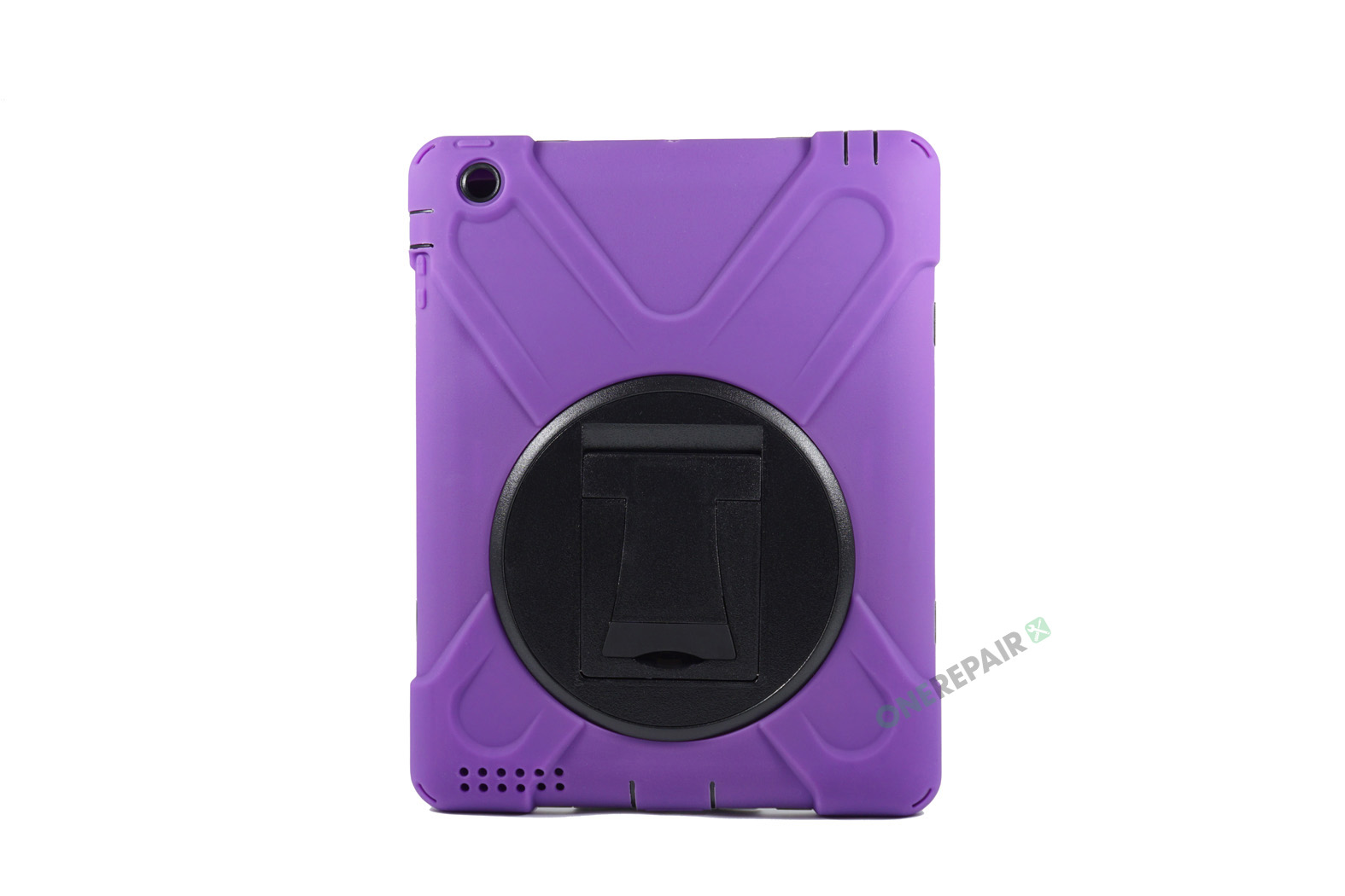 350983_iPad_2_3_4_A1395_A1396_A1430_A1403_1458_A1459_A1460_A1397_3-in-1_Bagcover_Cover_Børne_Skole_Hardcase_Lilla_Billig_Godt_Beskyttelse_OneRepair_WM_00001