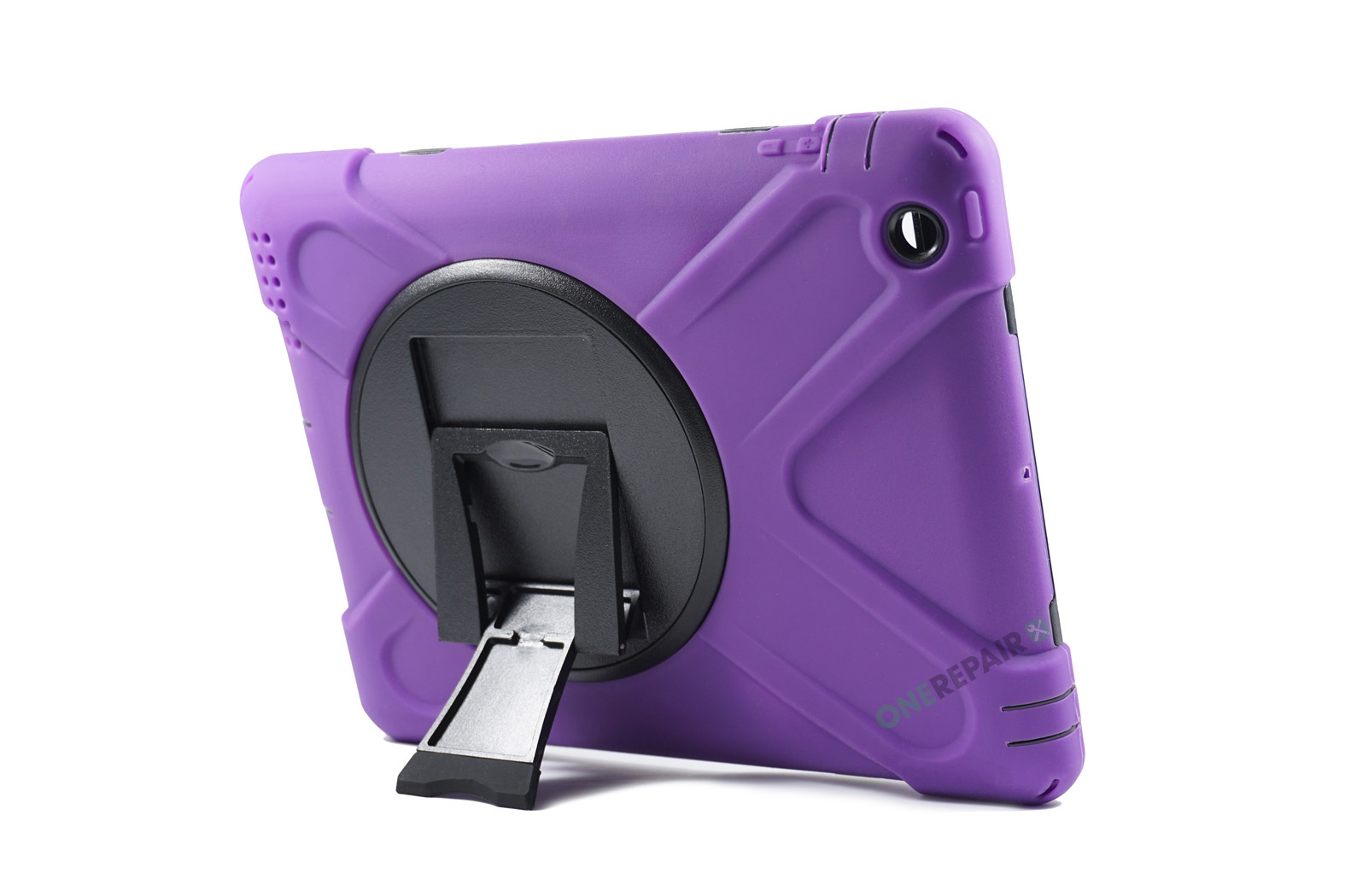 350983_iPad_2_3_4_A1395_A1396_A1430_A1403_1458_A1459_A1460_A1397_3-in-1_Bagcover_Cover_Børne_Skole_Hardcase_Lilla_Billig_Godt_Beskyttelse_OneRepair_WM_00004