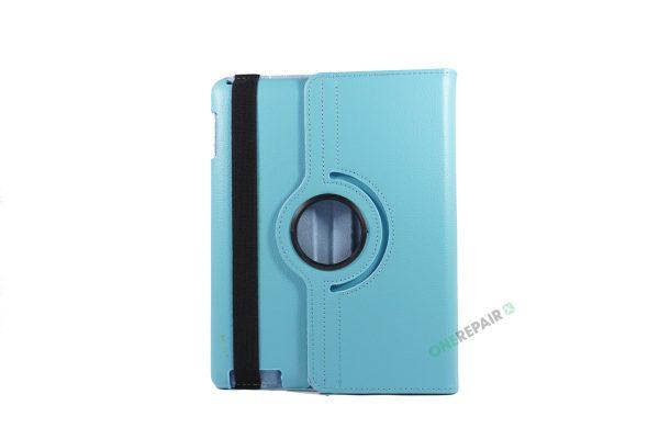 iPad 2, ipad 3, ipad 4, Blå cover, 360 grader,