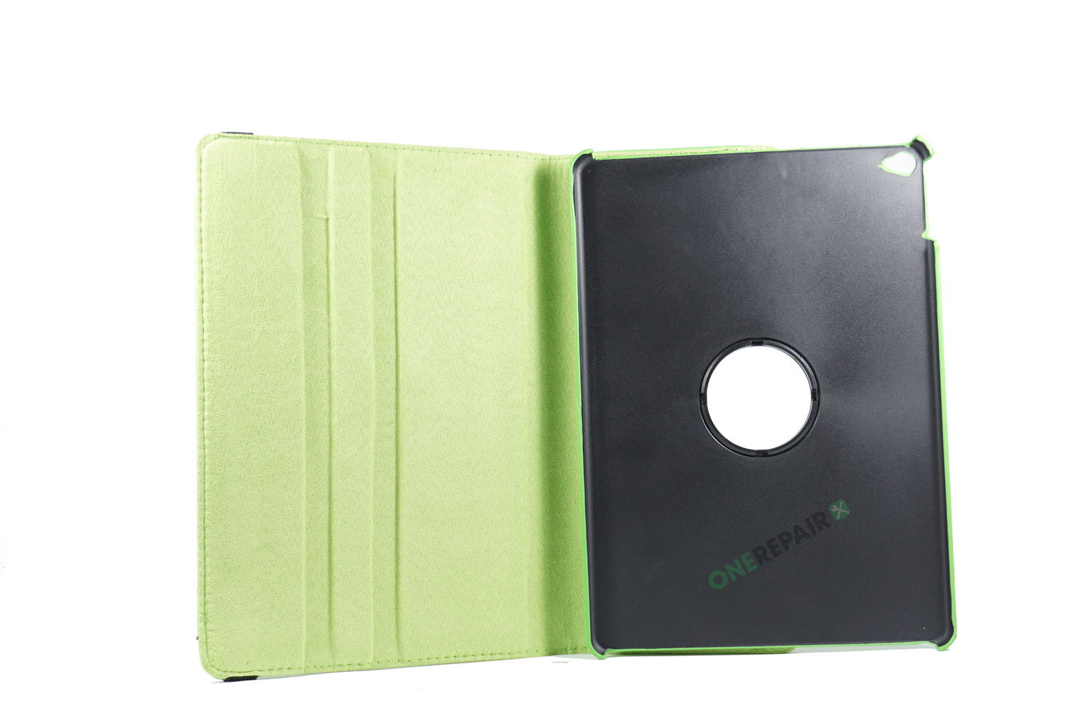 351018_iPad_Air_A1474_A1475_A1476_Flipcover_Cover_Groen_OneRepair_00003