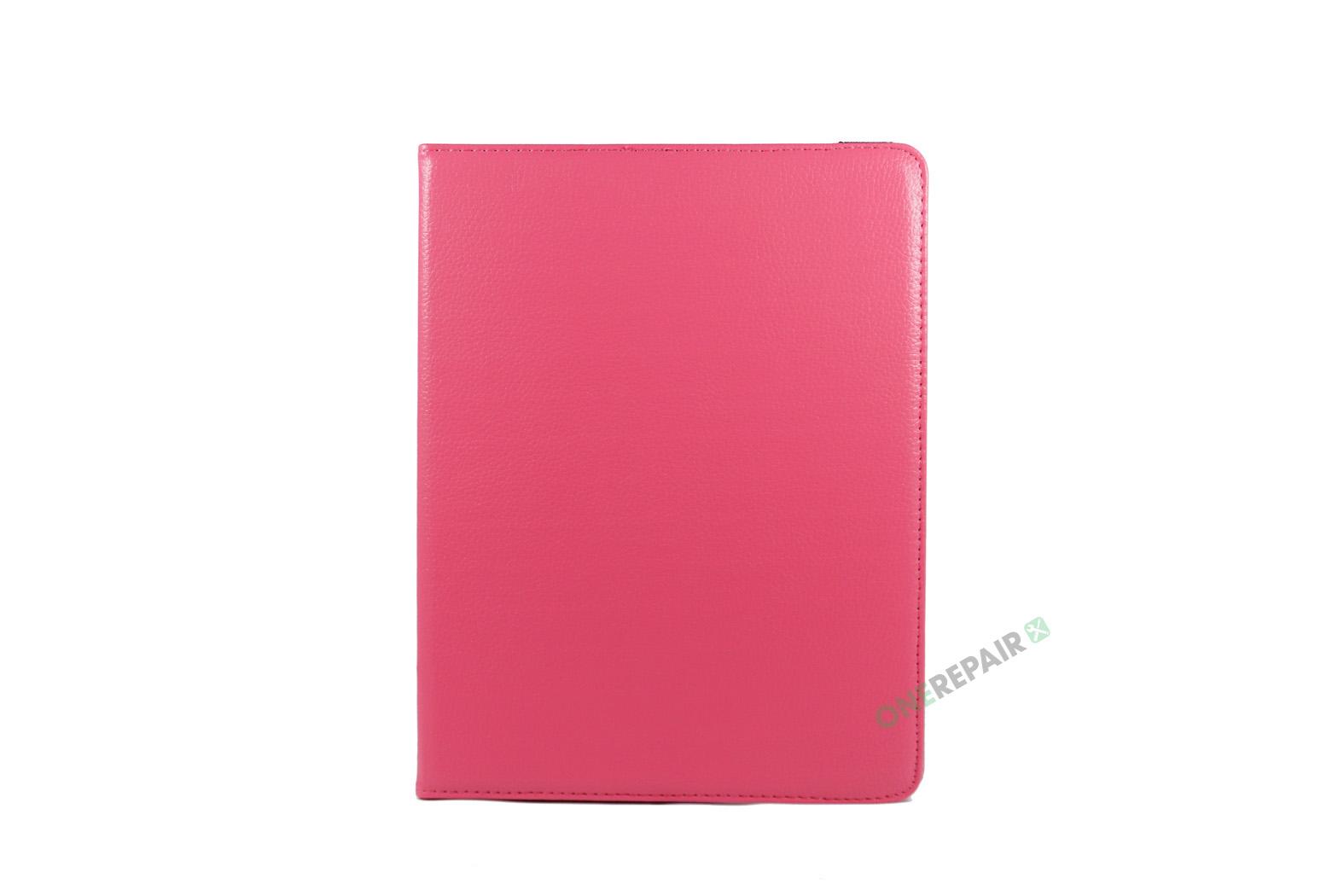 351032_iPad_2_3_4_A1395_A1396_A1430_A1403_1458_A1459_A1460_A1397_Flipcover_Classic_360_Cover_Lyseroed_Pink_Billig_Godt_Beskyttelse_OneRepair_WM_00002