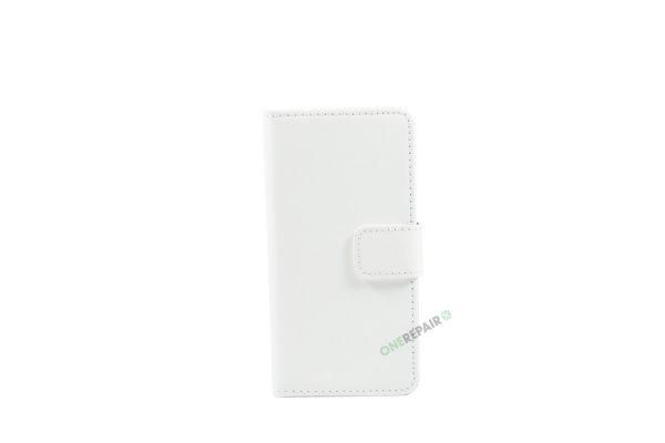 Samsung, A3 2016, Flipcover, Mobilcover, Mobil cover, billig, Hvid