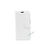 Samsung, A3 2017, Flipcover, Mobilcover, Mobil cover, billig, Hvid