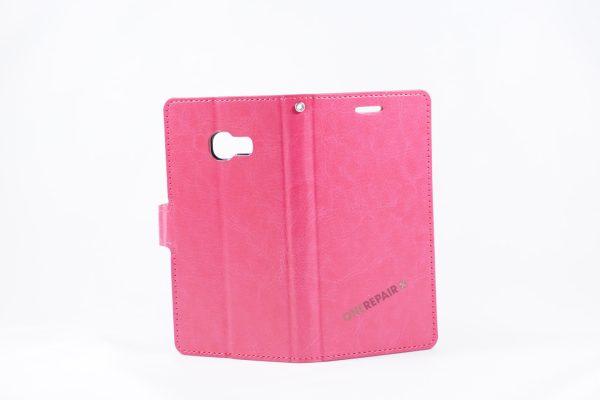 Samsung, A3 2017, Flipcover, Mobilcover, Mobil cover, billig, Pink,