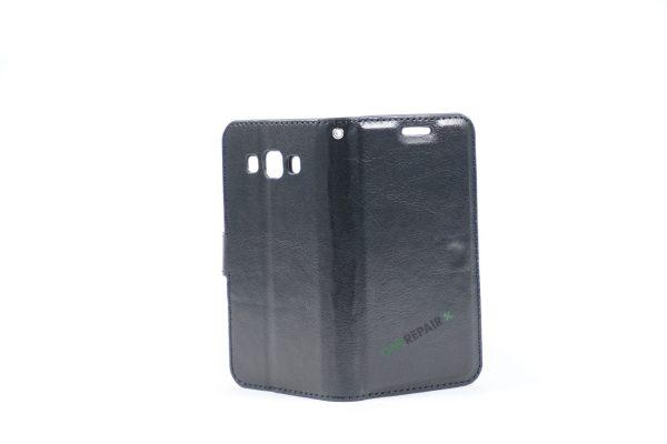 Samsung, A3 2015, Flipcover, Mobilcover, Mobil cover, billig, Sort,
