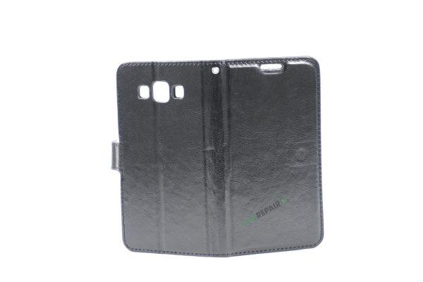 Samsung, A5 2015, Flipcover, Mobilcover, Mobil cover,billig, Sort,