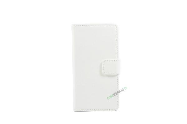 Samsung, A5 2016, Flipcover, Mobilcover, Mobil cover, billig, Hvid