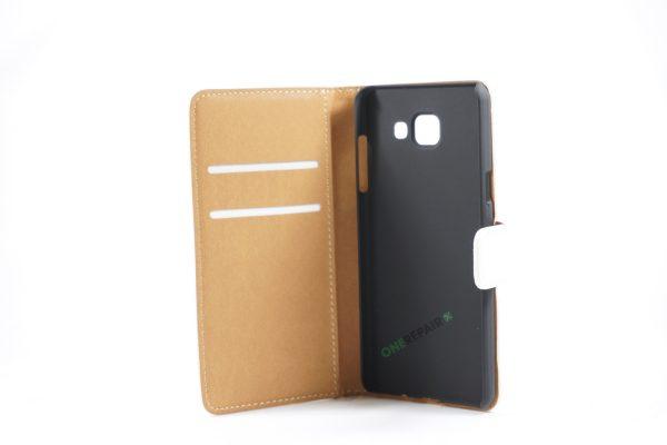Samsung, A5 2016, Flipcover, Mobilcover, Mobil cover,billig, Hvid,