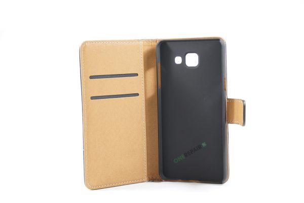 Samsung, A5 2016, Flipcover, Mobilcover, Mobil cover,billig, Sort,