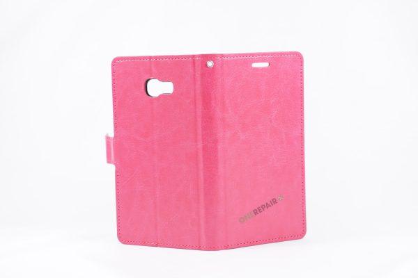 Samsung A5 2017, flipcover, pink, Plads til kort