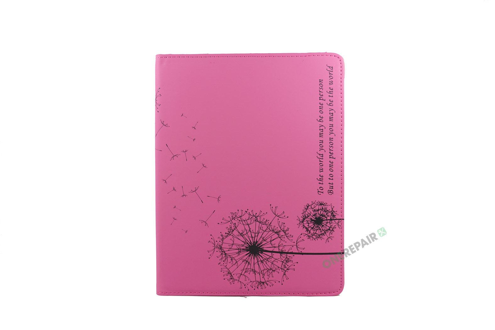 351156_iPad_2_3_4_A1395_A1396_A1430_A1403_1458_A1459_A1460_A1397_Flipcover_Classic_Flower_Blomster_Motiv_360_Cover_LyseRoed_Pink_Billig_Godt_Beskyttelse_OneRepair_WM_00002