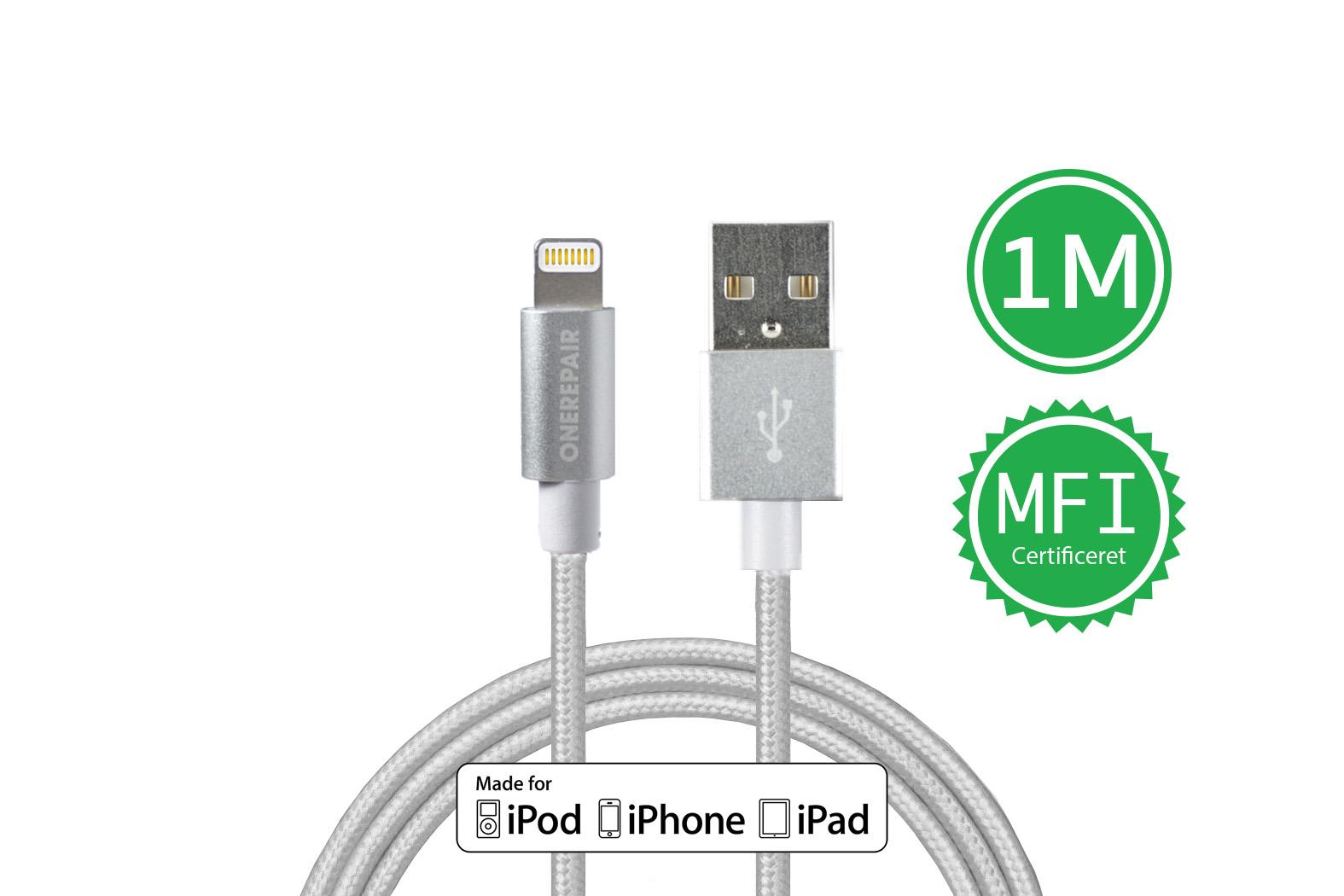 351210_OneRepair_Oplader_Kabel_Lightning_iPhone_Lader_Apple_Godkendt_1_Meter_Billigt_OneRepair_00001