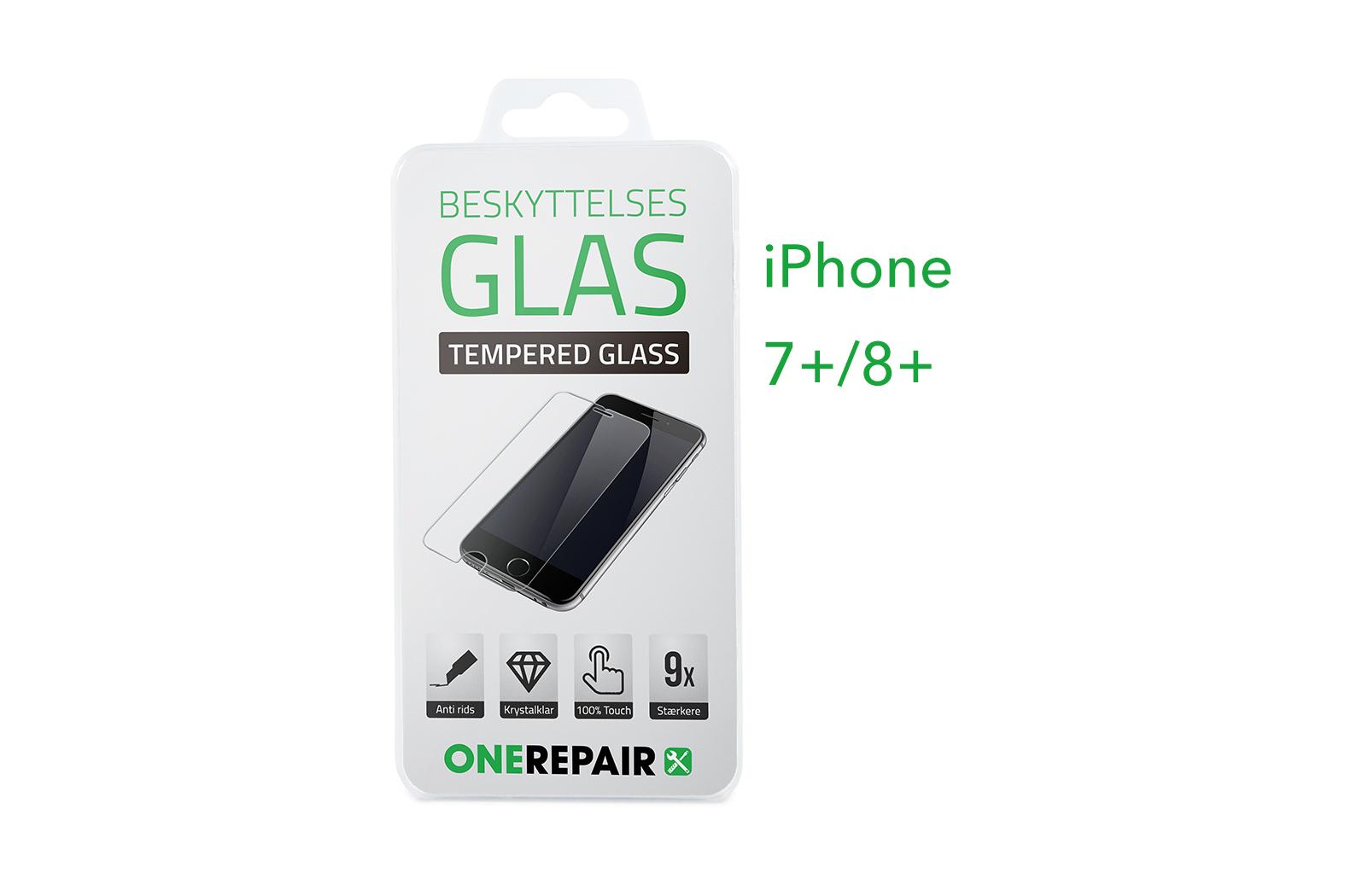 351268_iPhone_7+_8+_Plus_Beskyttelsesglas_Beskyttelses_Glas_Tempered_glass_Panserglas_Panser_Glas_Panzerglas_Panzer_OneRepair_00001