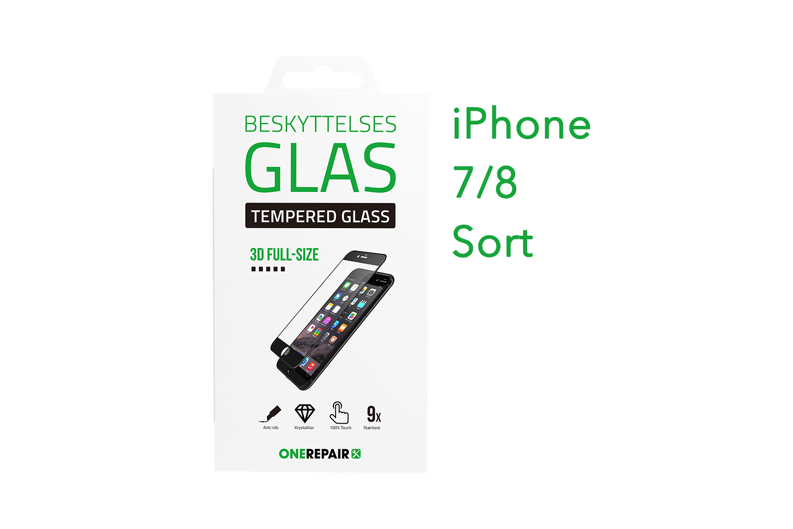 351272_iPhone_7_8_Fullsize_Full_Size_3D_Beskyttelses_glas_Panser_Panzer_Tempered_Glass_Sort_OneRepair_00001