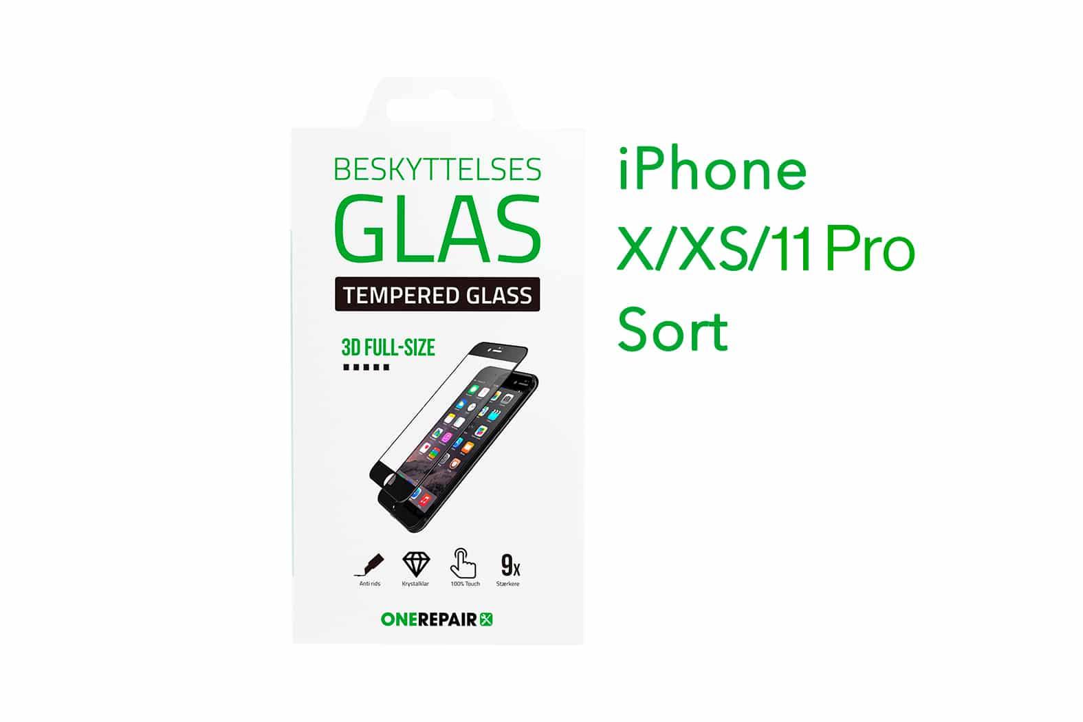 351278_iPhone_X_XS_11_Pro_Fullsize_Full_Size_3D_Beskyttelses_glas_Panser_Panzer_Tempered_Glass_Hvid_OneRepair_00001