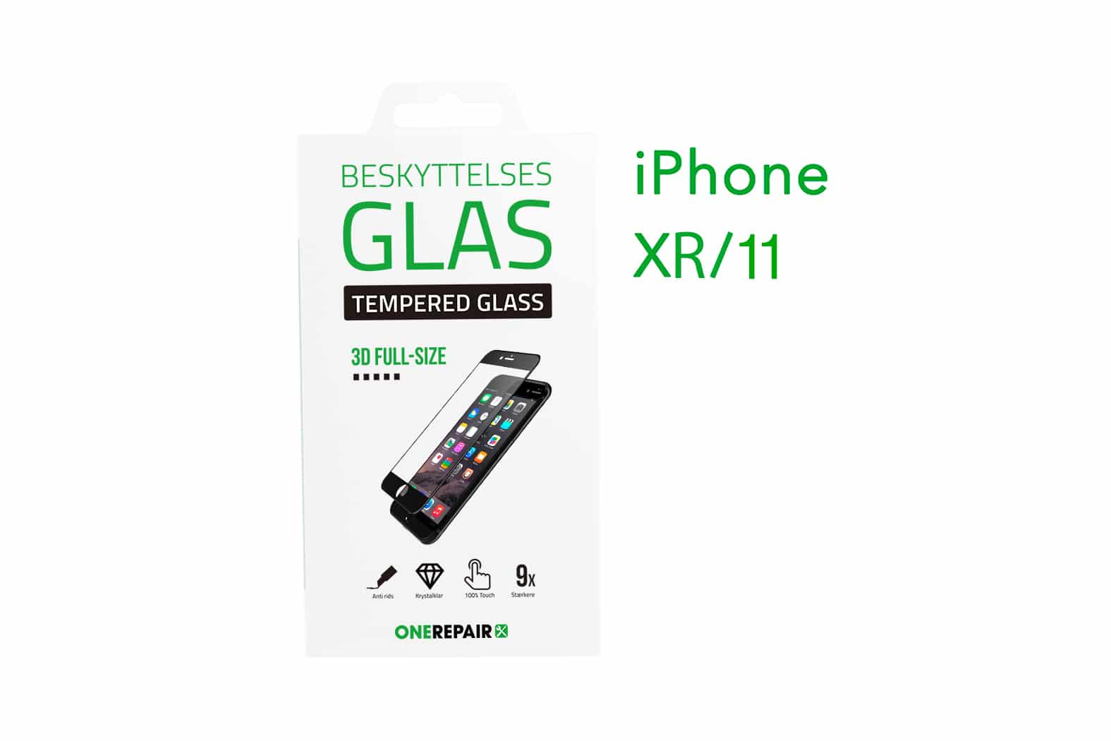 351280_iPhone_XR_11_Fullsize_Full_Size_3D_Beskyttelses_glas_Panser_Panzer_Tempered_Glass_OneRepair_00001