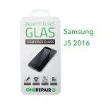 beskyttelsesglas, beskyttelse, glas, Size, Pazer, Panser, Hvid, staerk, stærk, Godt, Billig, Samsung, J5 2016