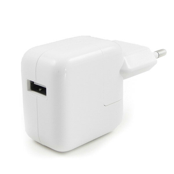 iPad power adapter, Strømforsyning, Apple, Lader