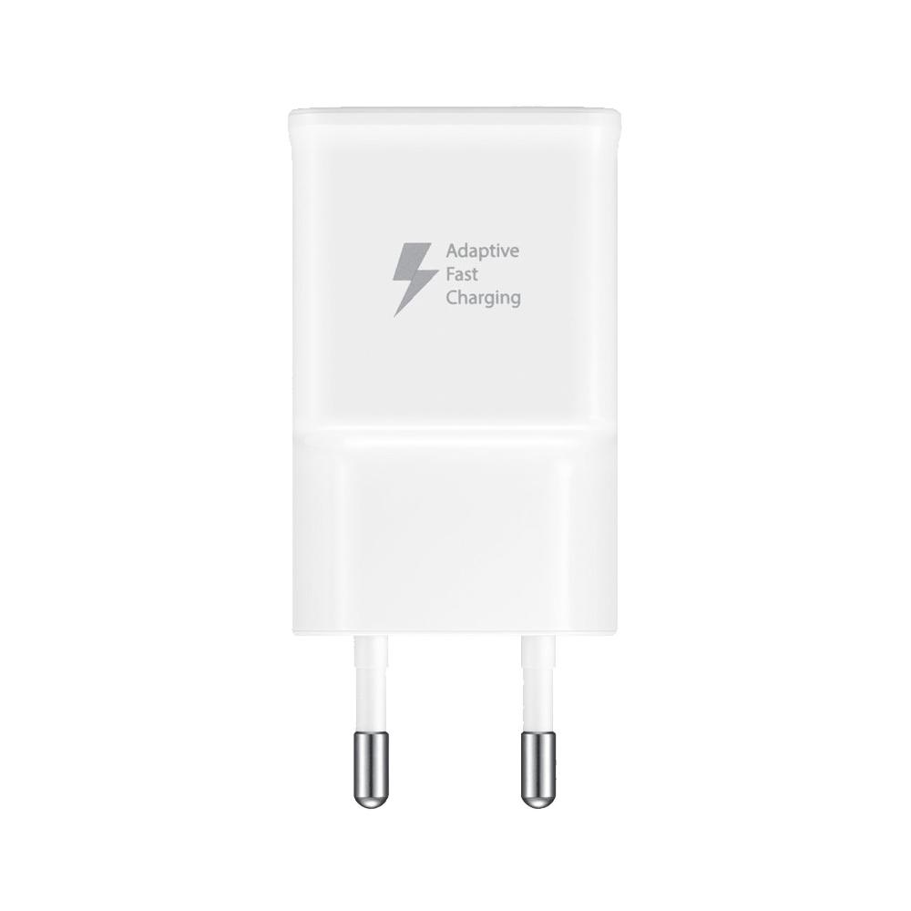 Samsung Power adapter, Fast charge, Strøm forsyning, Strøm stik, Hvid,