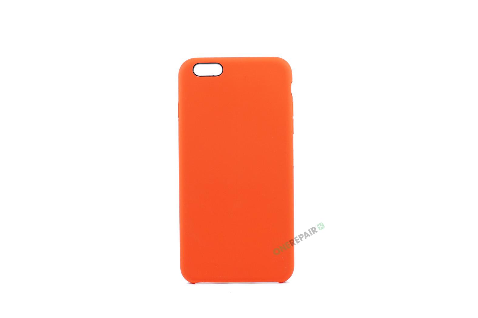 iPhone 6 Plus, iPhone 6S Plus, Silikone cover, Rød