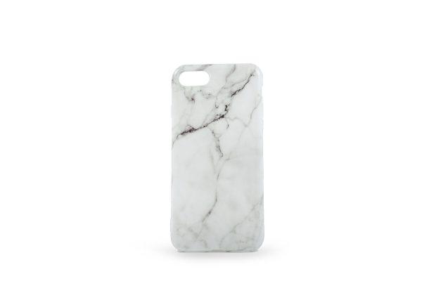 Hvidt Marmor Cover til iPhone 7/8/SE20 - 99kr