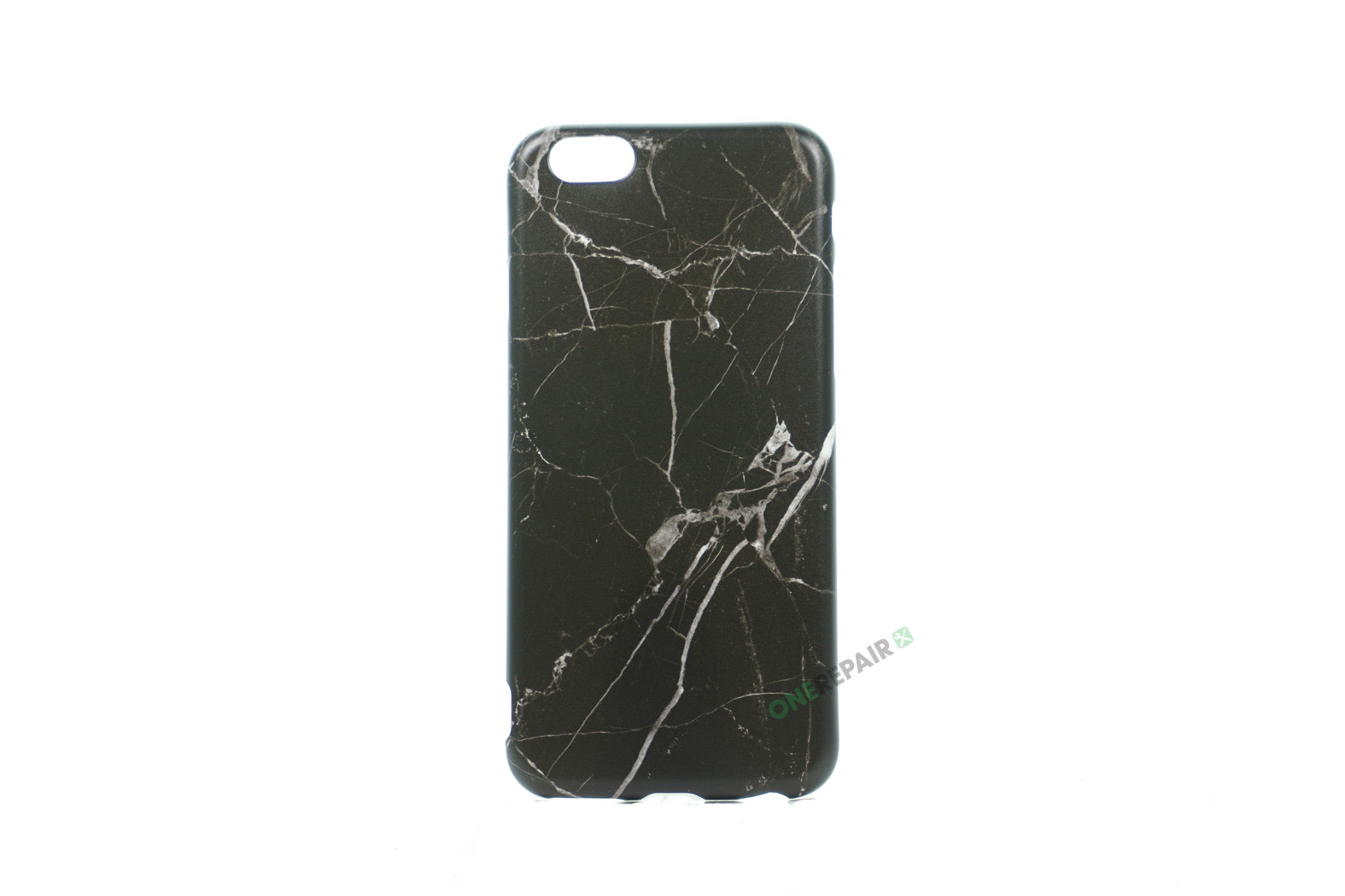 iPhone 6, 6S, A1549, A1586, A1589, A1633, A1688, A1700, A1691, Apple, Bagcover, Cover, Billig, Motiv, Marmor, Sort