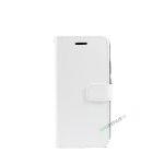 Huawei P20 Lite, Flipcover, cover, Plads til kort, Hvid