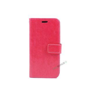 iPhone 7, iPhone 8, Flipcover, Plads til kort, Pink