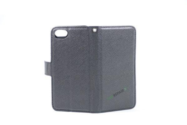 iPhone 7 / 8 Sort Flipcover, Magnet, Plads til kort