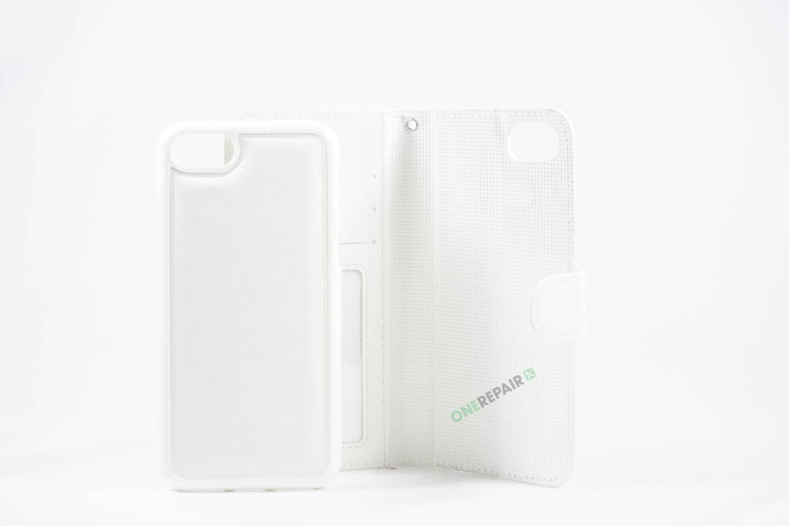 351844_iPhone_7_8_Flipcover_Magnet_Tynd_Cover_Hvid_OneRepair_WM_00003