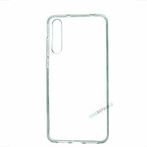 Huawei P20 Pro cover, Gennemsigtig, Transparant, Gummicover