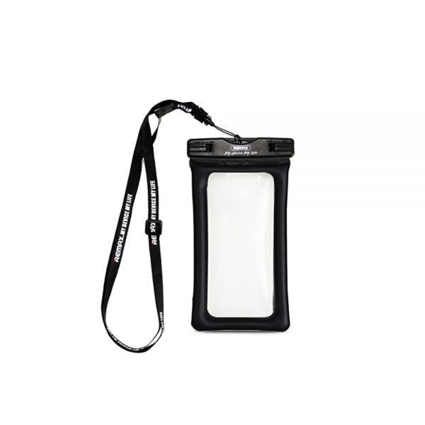 Vandtæt cover, vandtæt pose, iphone vandcover, vand cover, vandbeskyttelse, sort